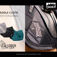 NEW!!!   Mesh Diagonal Saddlepad from Eskadron's Autumn Classic Sports Collection