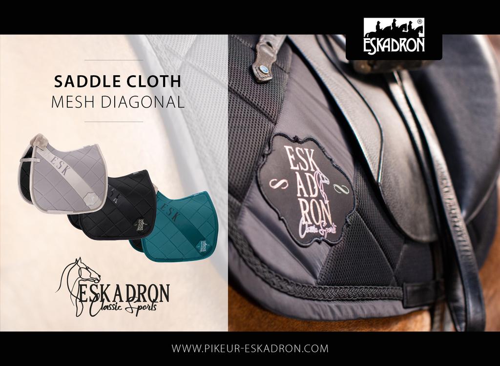 NEW!!!   Mesh Diagonal Saddlepad from Eskadron's Autumn Classic Sports Collection
