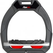 SAFE-ON  JUNIOR:  Flex-on's brilliant safety stirrup for younger riders is now available !